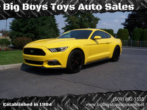 2016 Ford Mustang for sale at Big Boys Toys Auto Sales in Spokane Valley WA