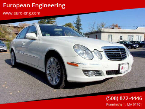 2008 Mercedes-Benz E-Class for sale at European Engineering in Framingham MA