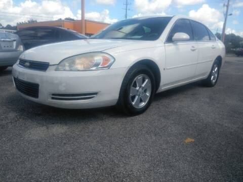 2007 Chevrolet Impala for sale at JacksonvilleMotorMall.com in Jacksonville FL
