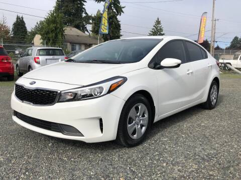2018 Kia Forte for sale at A & V AUTO SALES LLC in Marysville WA