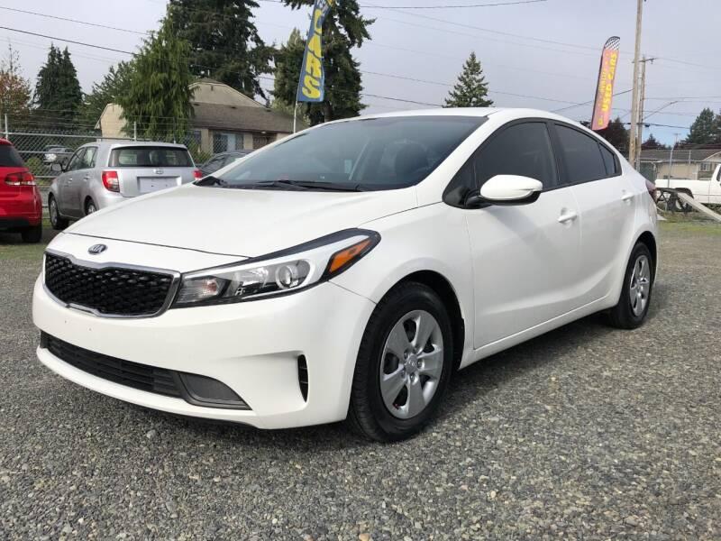 2018 Kia Forte for sale at A & V AUTO SALES LLC in Marysville WA