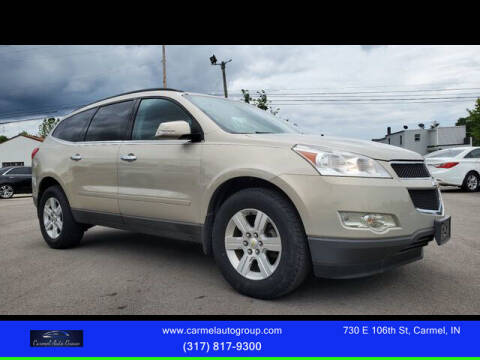 2012 Chevrolet Traverse for sale at Carmel Auto Group in Indianapolis IN