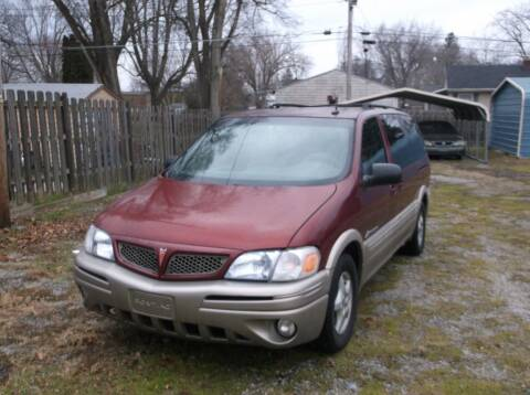 2003 Pontiac Montana for sale at Straight Line Motors LLC in Fort Wayne IN