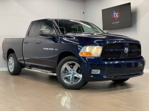 2012 RAM Ram Pickup 1500 for sale at TX Auto Group in Houston TX