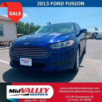 2013 Ford Fusion for sale at Mid Valley Motors in La Feria TX