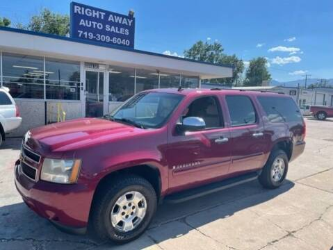 2007 Chevrolet Suburban for sale at Right Away Auto Sales in Colorado Springs CO