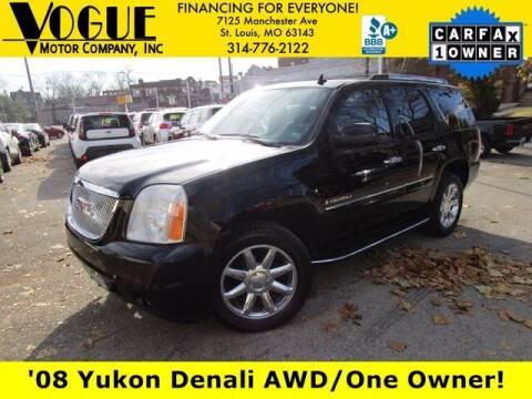 2008 GMC Yukon for sale at Vogue Motor Company Inc in Saint Louis MO