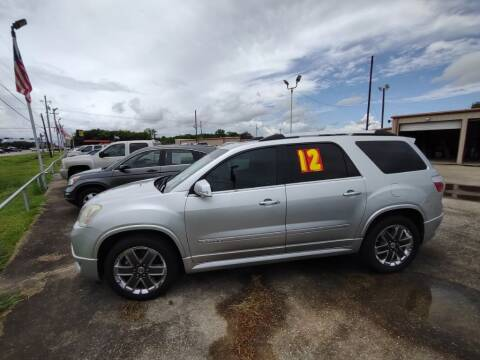 2012 GMC Acadia for sale at BIG 7 USED CARS INC in League City TX