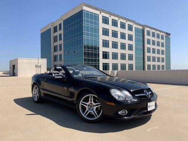 2007 Mercedes-Benz SL-Class for sale at SIGNATURE Sales & Consignment in Austin TX