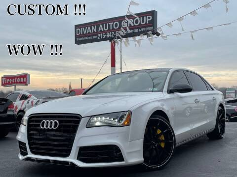 2011 Audi A8 L for sale at Divan Auto Group in Feasterville PA