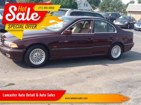 1997 BMW 5 Series for sale at Lancaster Auto Detail & Auto Sales in Lancaster PA