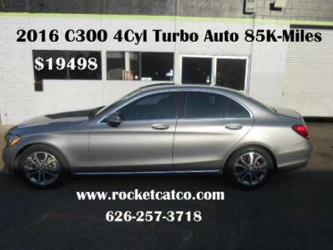 2016 Mercedes-Benz C-Class for sale at Rocket Car sales in Covina CA