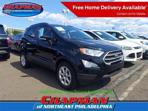 2018 Ford EcoSport for sale at CHAPMAN FORD NORTHEAST PHILADELPHIA in Philadelphia PA