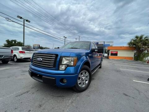 2010 Ford F-150 for sale at LATINOS MOTOR OF ORLANDO in Orlando FL