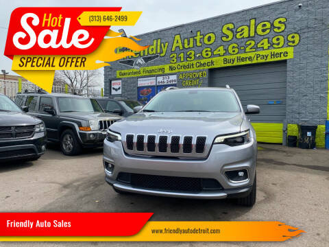 2020 Jeep Cherokee for sale at Friendly Auto Sales in Detroit MI