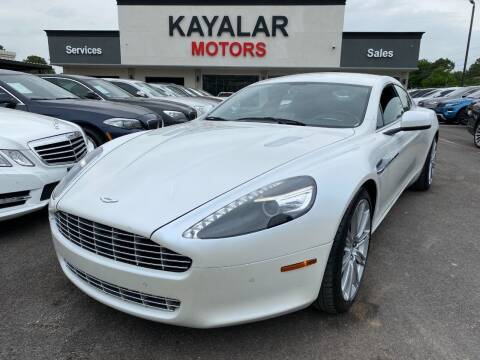 2011 Aston Martin Rapide for sale at KAYALAR MOTORS in Houston TX