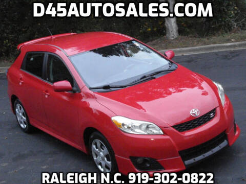 2010 Toyota Matrix for sale at D45 Auto Brokers in Raleigh NC