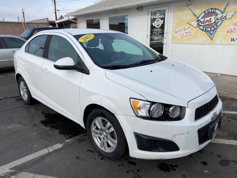 2013 Chevrolet Sonic for sale at Robert Judd Auto Sales in Washington UT