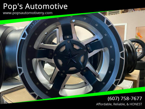 XD Series Wheels XD827 Rockstar 3 for sale at Pop's Automotive in Homer NY