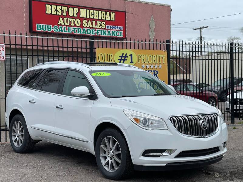 2017 Buick Enclave for sale at Best of Michigan Auto Sales in Detroit MI