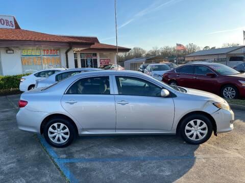 2010 Toyota Corolla for sale at Rock & Roll Motors in Baton Rouge LA