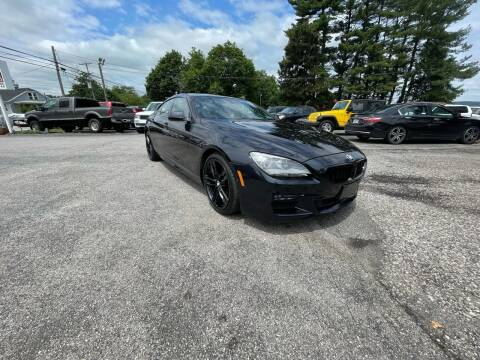 2013 BMW 6 Series for sale at LAUER BROTHERS AUTO SALES in Dover PA