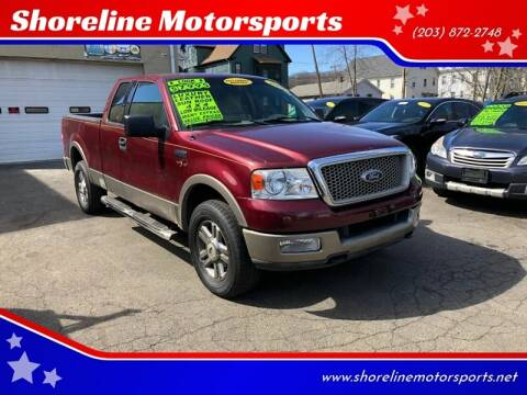 2004 Ford F-150 for sale at Shoreline Motorsports in Waterbury CT