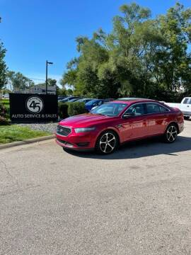 2015 Ford Taurus for sale at Station 45 Auto Sales Inc in Allendale MI