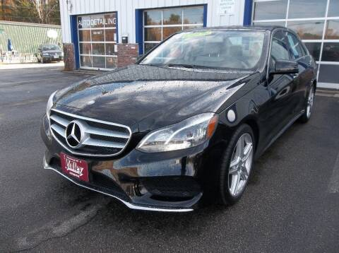 2014 Mercedes-Benz E-Class for sale at Valley Automotive in Peterborough NH