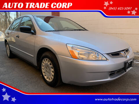 2005 Honda Accord for sale at AUTO TRADE CORP in Nanuet NY