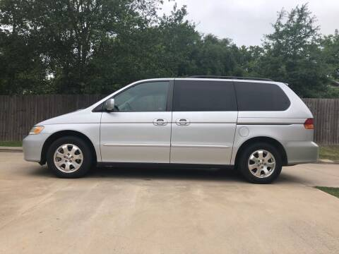 2002 Honda Odyssey for sale at H3 Auto Group in Huntsville TX