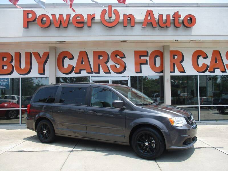 2016 Dodge Grand Caravan for sale at Power On Auto LLC in Monroe NC