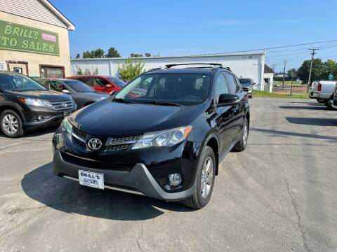 2015 Toyota RAV4 for sale at Brill's Auto Sales in Westfield MA
