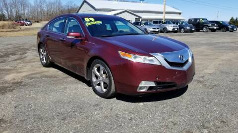 2009 Acura TL for sale at ALL WHEELS DRIVEN in Wellsboro PA