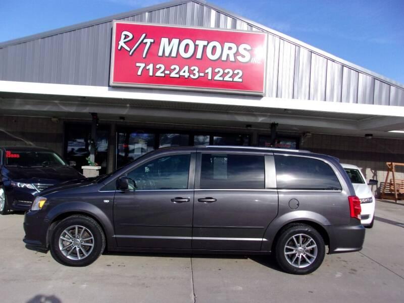 2014 Dodge Grand Caravan for sale at RT Motors Inc in Atlantic IA