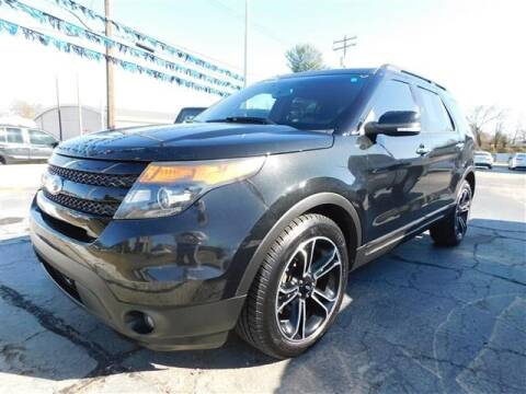 2014 Ford Explorer for sale at D & T Auto Sales, Inc. in Henderson KY