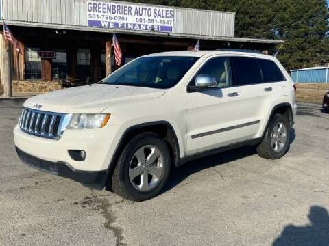 2012 Jeep Grand Cherokee for sale at Greenbrier Auto Sales in Greenbrier AR