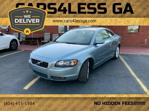 2007 Volvo C70 for sale at Cars4Less GA in Alpharetta GA