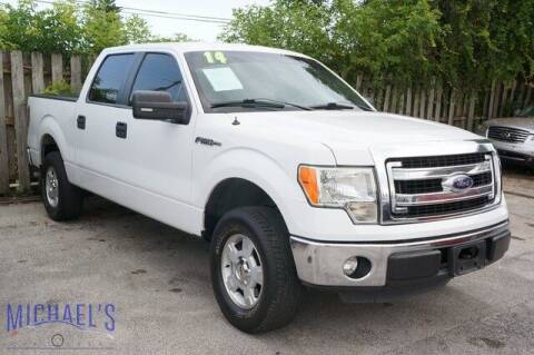 2014 Ford F-150 for sale at Michael's Auto Sales Corp in Hollywood FL