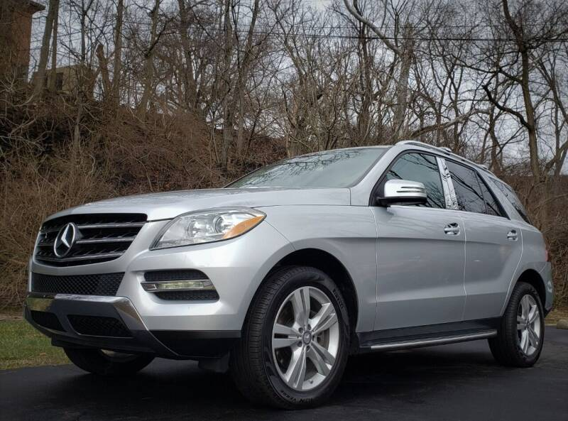 2015 Mercedes-Benz M-Class for sale at The Motor Collection in Columbus OH
