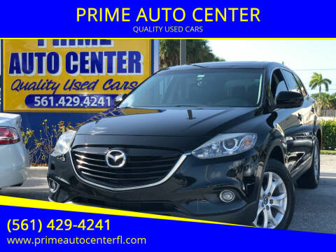 2013 Mazda CX-9 for sale at PRIME AUTO CENTER in Palm Springs FL