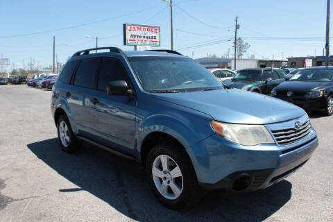 2010 Subaru Forester for sale at Jamrock Auto Sales of Panama City in Panama City FL