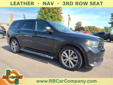 2013 Dodge Durango for sale at R & B Car Company in South Bend IN