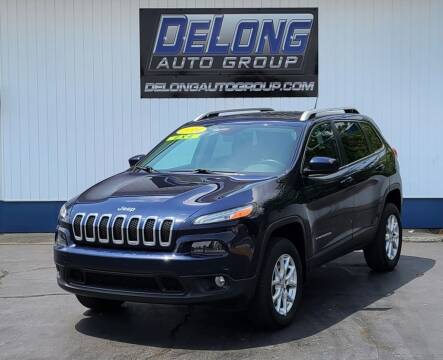 2014 Jeep Cherokee for sale at DeLong Auto Group in Tipton IN