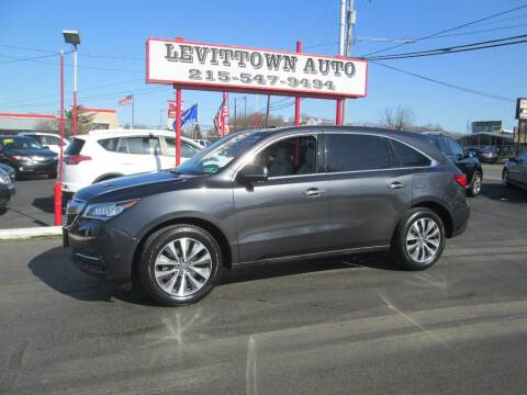 2016 Acura MDX for sale at Levittown Auto in Levittown PA