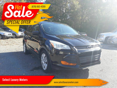 2014 Ford Escape for sale at Select Luxury Motors in Cumming GA