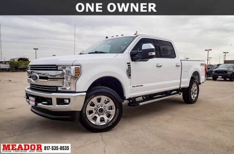 2019 Ford F-250 Super Duty for sale at Meador Dodge Chrysler Jeep RAM in Fort Worth TX