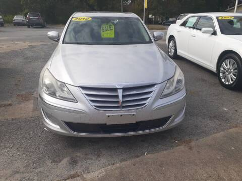 2012 Hyundai Genesis for sale at PIRATE AUTO SALES in Greenville NC