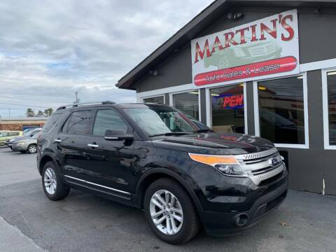 2013 Ford Explorer for sale at Martins Auto Sales in Shelbyville KY