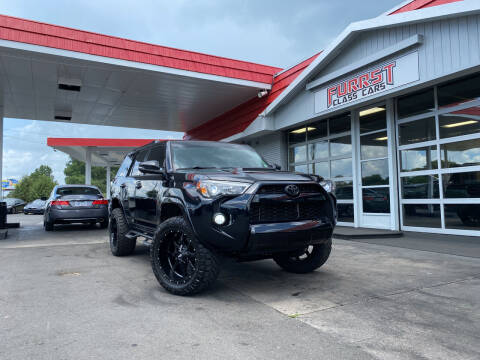 2017 Toyota 4Runner for sale at Furrst Class Cars LLC  - Independence Blvd. in Charlotte NC